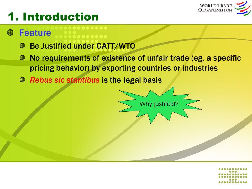 4.Chinese legislation on Safeguard 1.1994 年《对外贸易法》第第 44 条、第 45 条和第 46 条是关于保障 措施的原则性规定。 2.