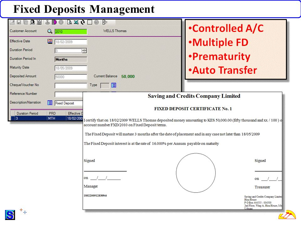 Fixed Deposits Management