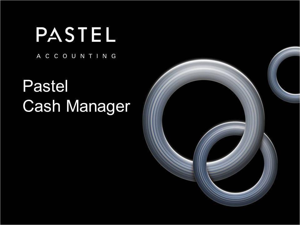Pastel Cash Manager
