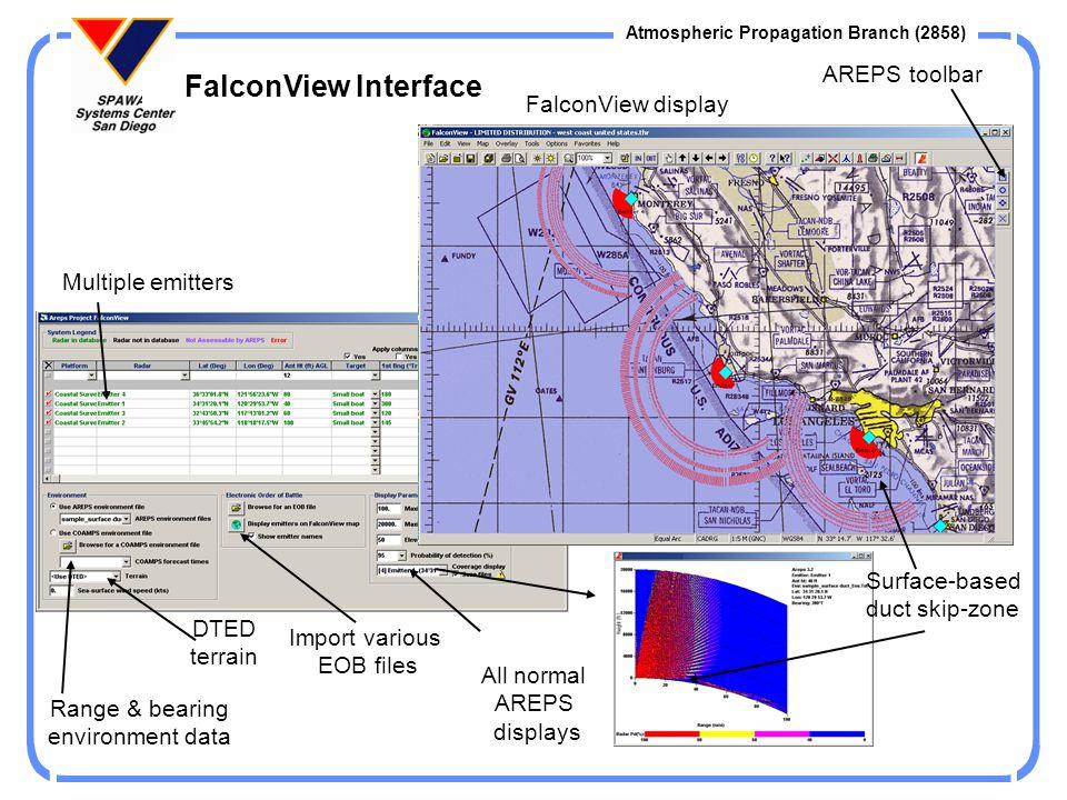 Atmospheric Propagation Branch (2858) Environmental Input Custom Column Method Example Custom Column Sources