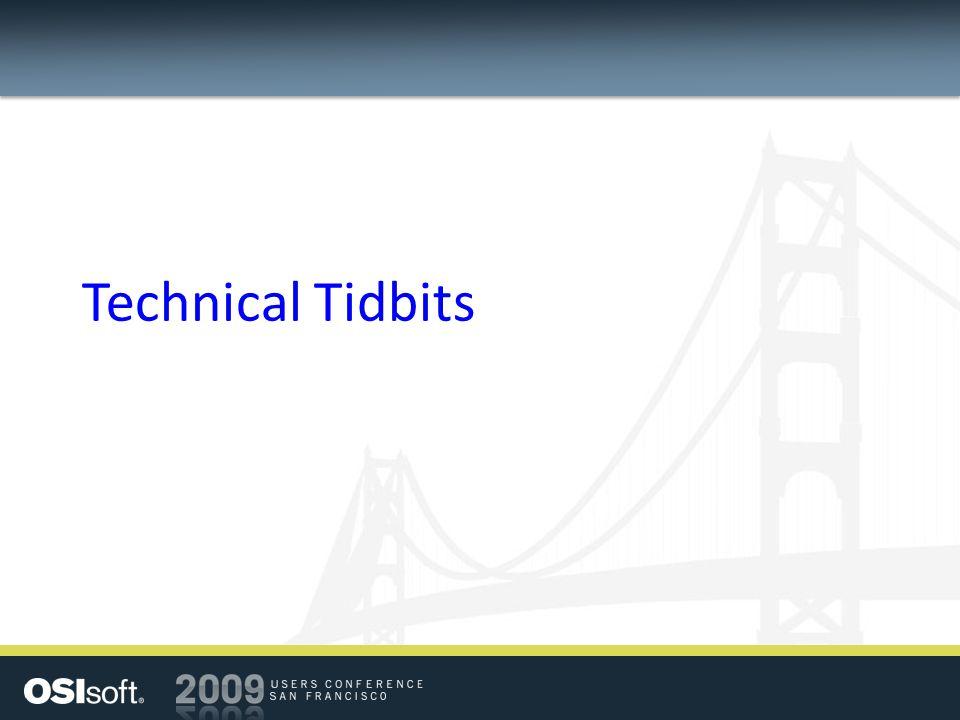 Technical Tidbits