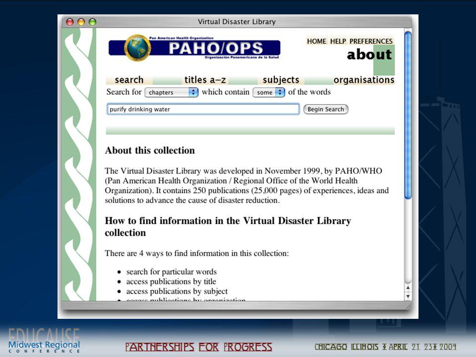 Catalog records Scanned Images Structural metadata METS XSLT Greenstone Archive Format Greenstone Dig.