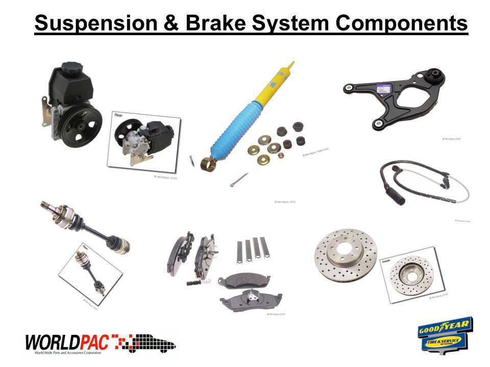 Suspension & Brake System Components