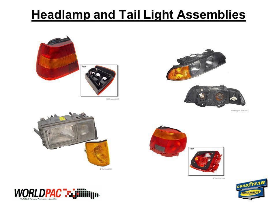 Headlamp and Tail Light Assemblies