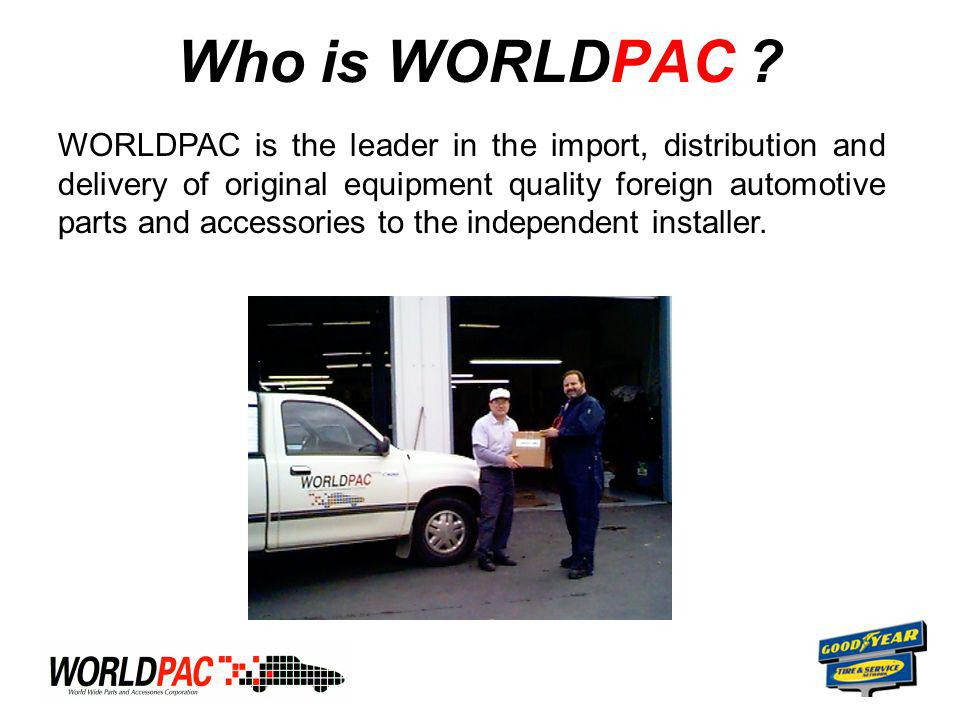 Who is WORLDPAC .