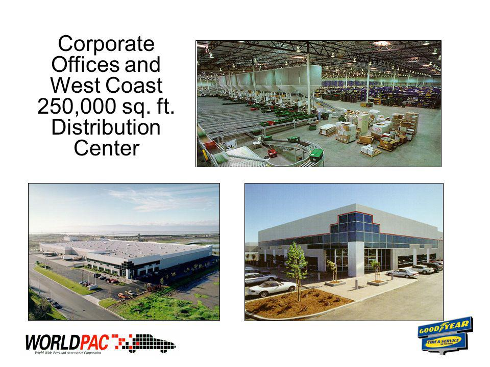Corporate Offices and West Coast 250,000 sq. ft. Distribution Center