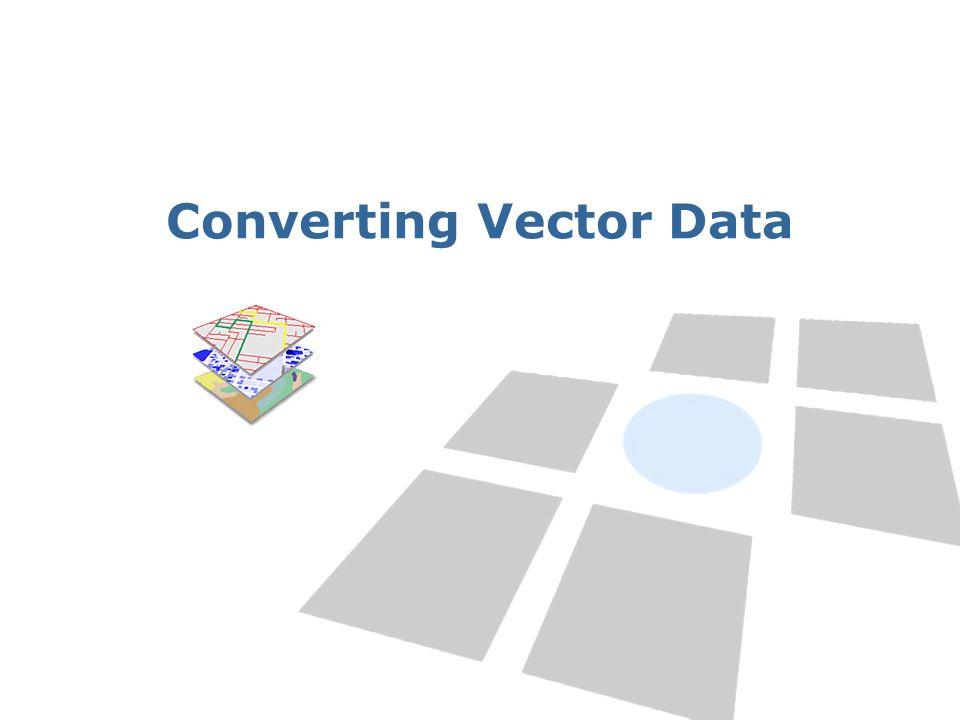 Converting Vector Data