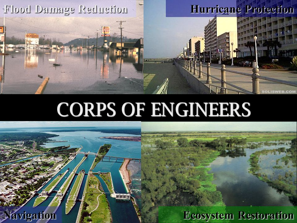 Pianc May 2006 Flood Damage Reduction Navigation Ecosystem Restoration Hurricane Protection CORPS OF ENGINEERS