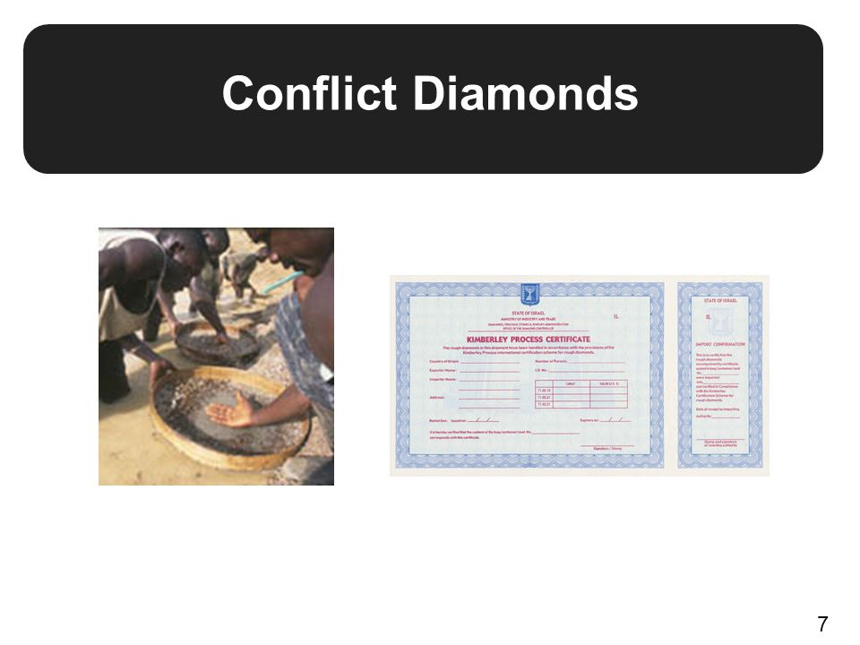 Conflict Diamonds 7
