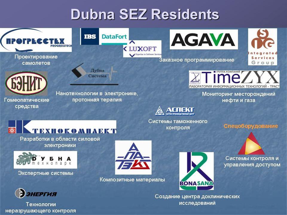 Dubna SEZ Residents