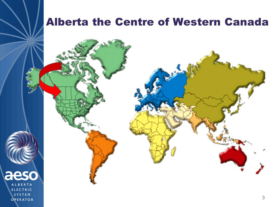 3 Alberta the Centre of Western Canada
