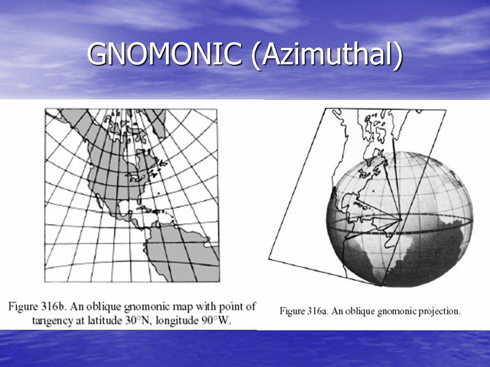 GNOMONIC (Azimuthal)