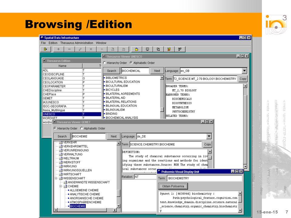 15-ene-157 Browsing /Edition