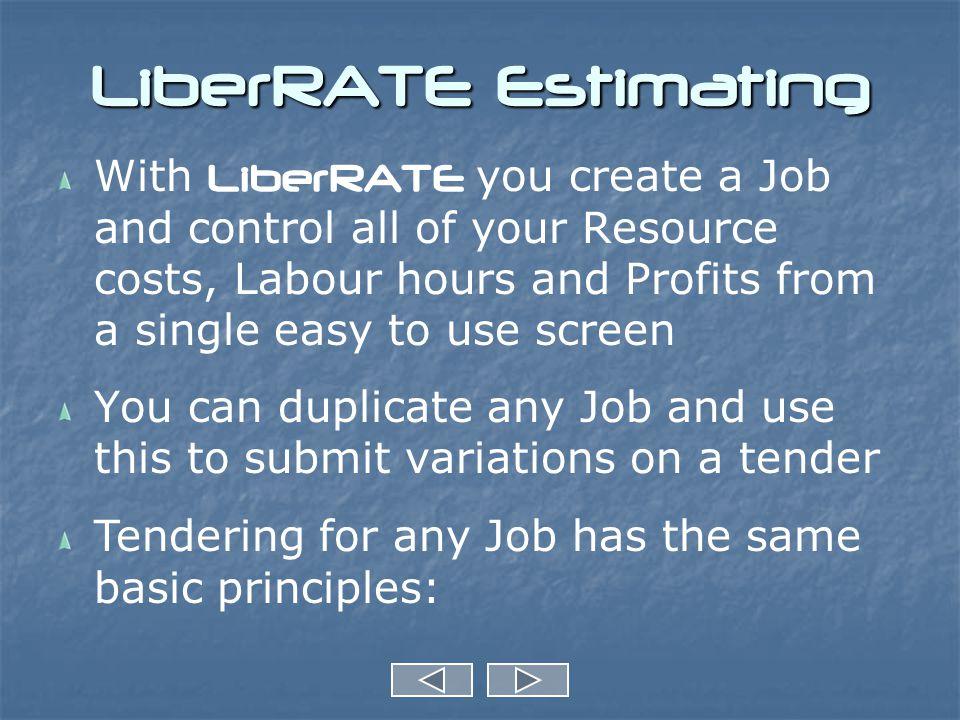 Provisional Sums in Job Job Screen