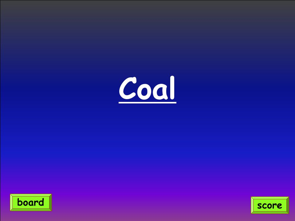 Coal score board