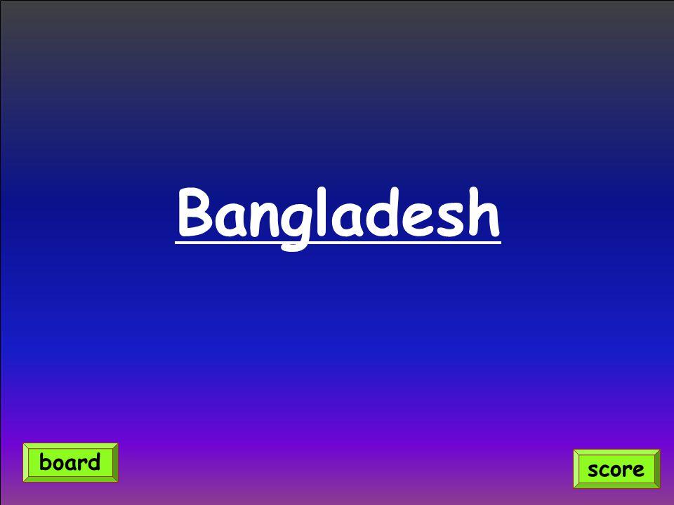 Bangladesh score board