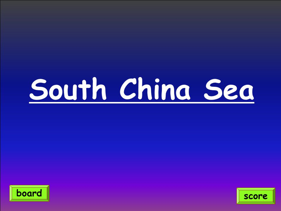 South China Sea score board