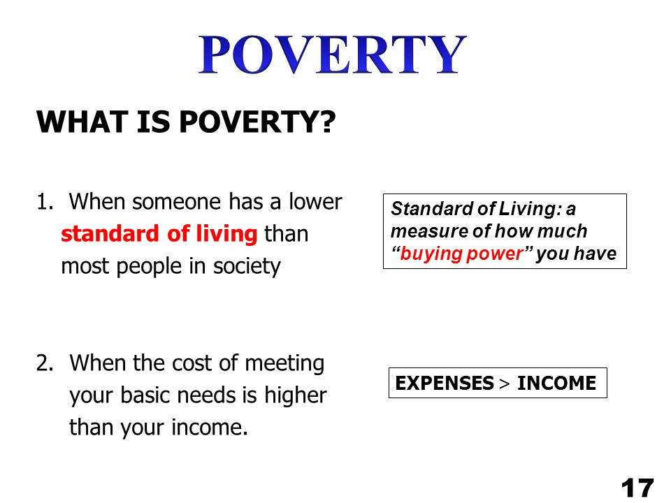 WHAT IS POVERTY.1.