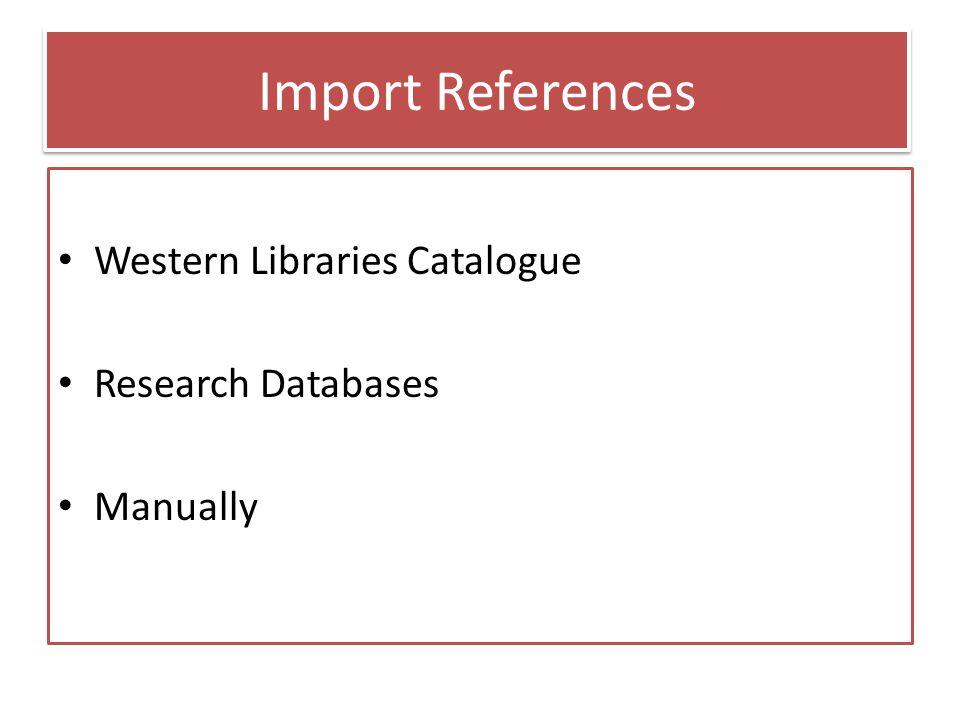 Help @ Weldon Library Mon-Th 9-6pm; Fri 10-4:30; Sat & Sun 1-4:30 dbwlib@uwo.ca | (519) 661-2111x83162