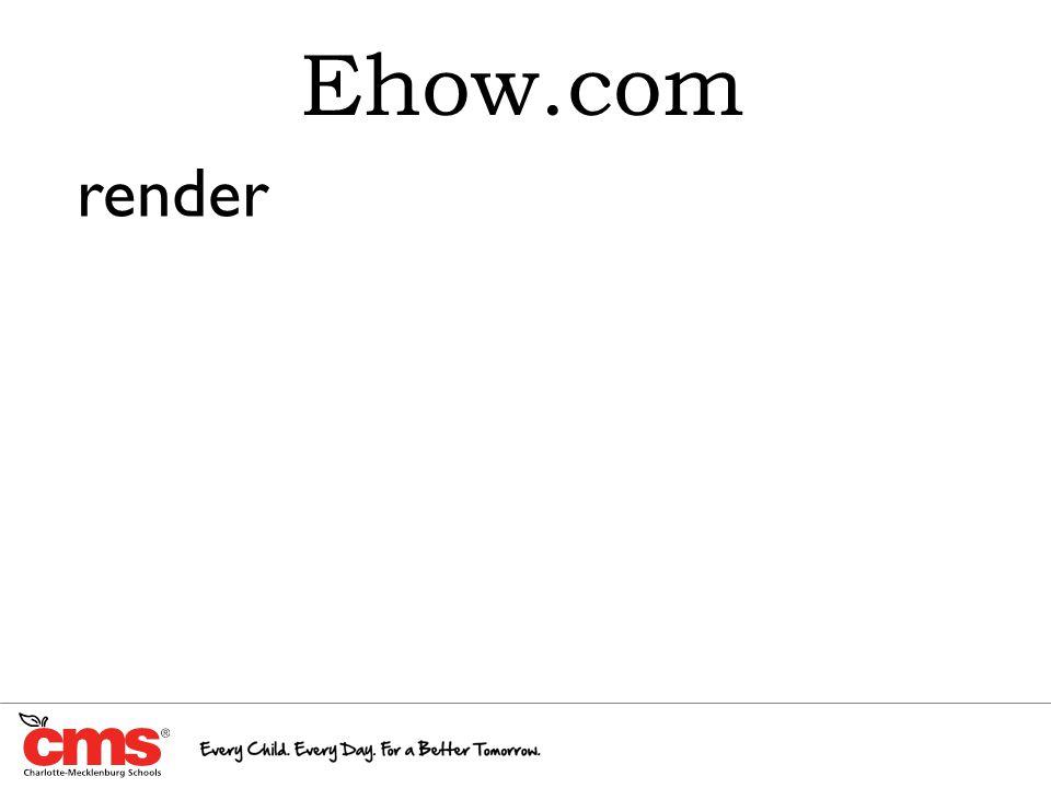 Ehow.com render