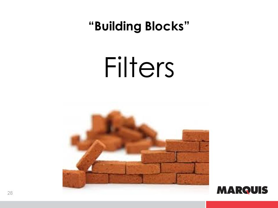 Building Blocks Filters 28