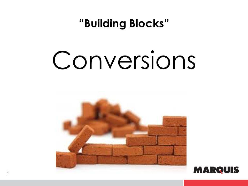 Building Blocks Conversions 4