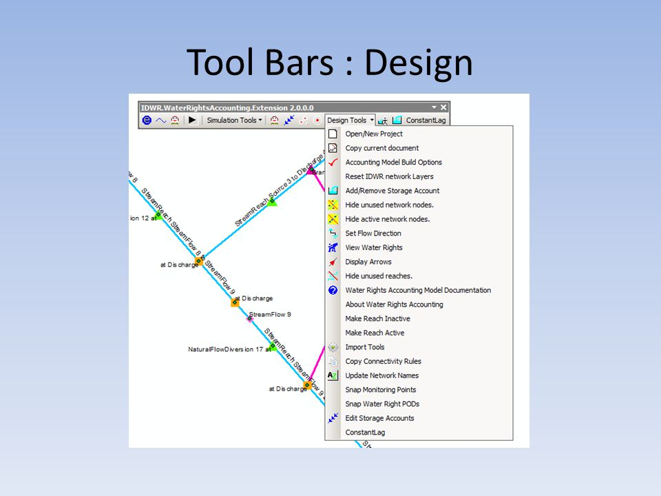 Tool Bars : Design