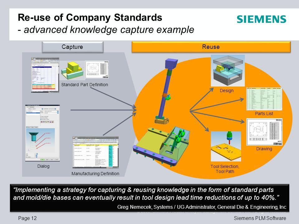 Page 12 © 2008. Siemens Product Lifecycle Management Software Inc.