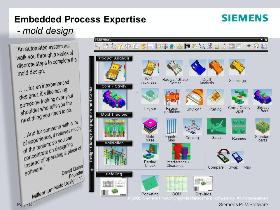 Page 9 © 2008.Siemens Product Lifecycle Management Software Inc.