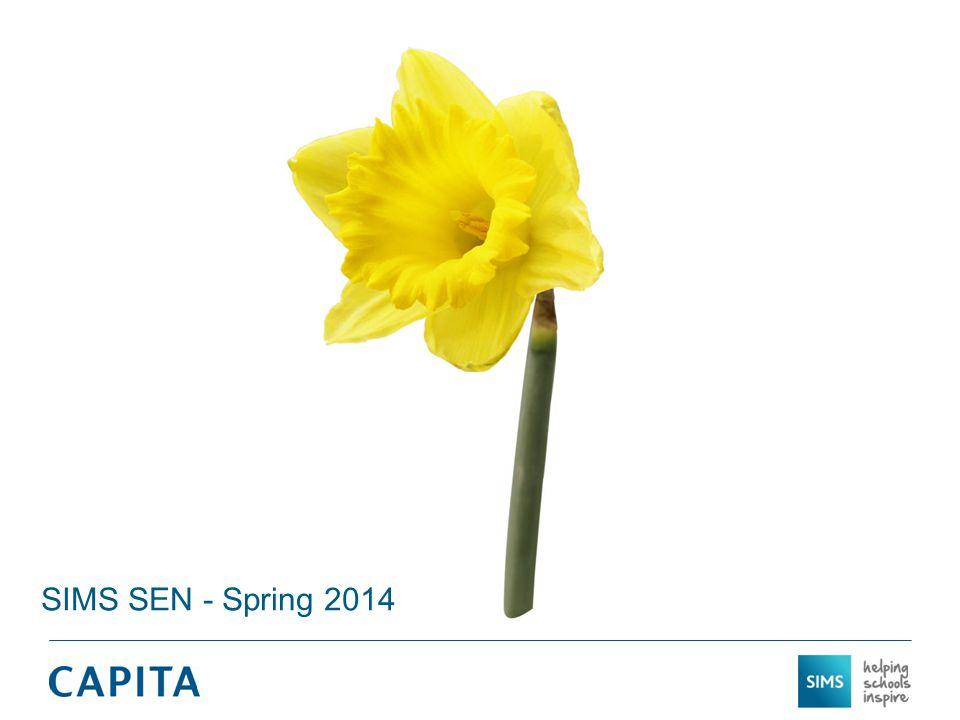SIMS SEN - Spring 2014