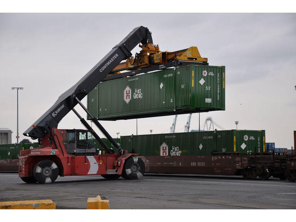  Total intermodal container + trailer volume in U.S.