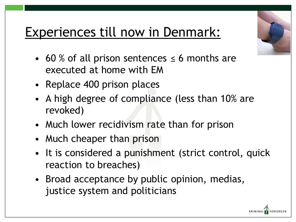 Rate of Recidivism (2013) CUSTODIAL SENTENCE: 38% SUSPENDED SENTENCE: 29% COMM.