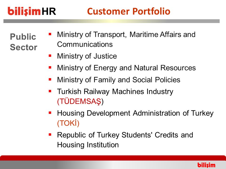  Ministry of Transport, Maritime Affairs and Communications  Ministry of Justice  Ministry of Energy and Natural Resources  Ministry of Family and