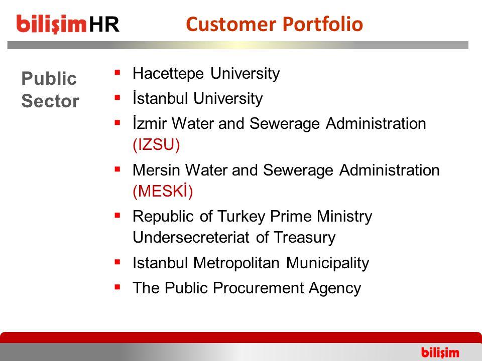  Hacettepe University  İstanbul University  İzmir Water and Sewerage Administration (IZSU)  Mersin Water and Sewerage Administration (MESKİ)  Rep