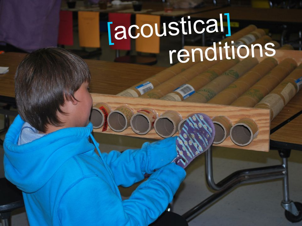 [acoustical] renditions