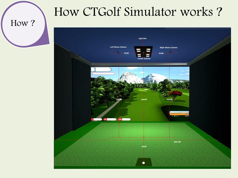How How CTGolf Simulator works