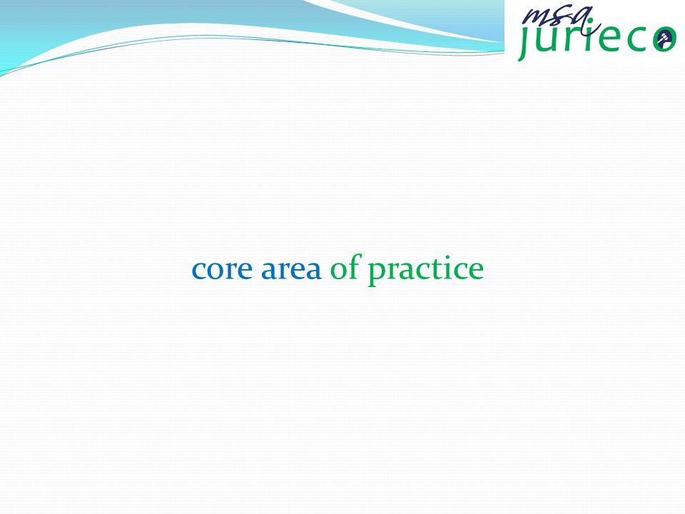 core area of practice