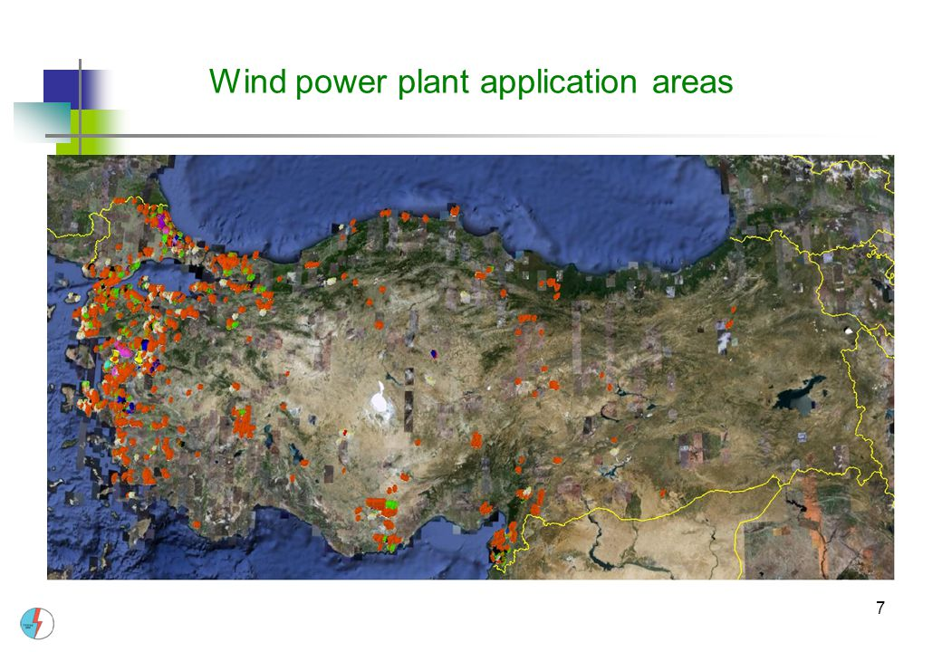 7 Wind power plant application areas