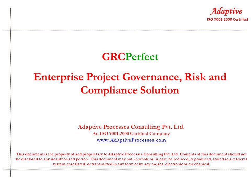 Adaptive Processes Consulting Pvt. Ltd.