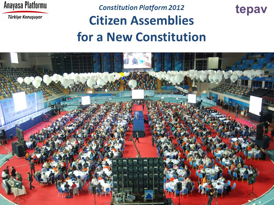tepav Constitution Platform 2012 Citizen Assemblies for a New Constitution