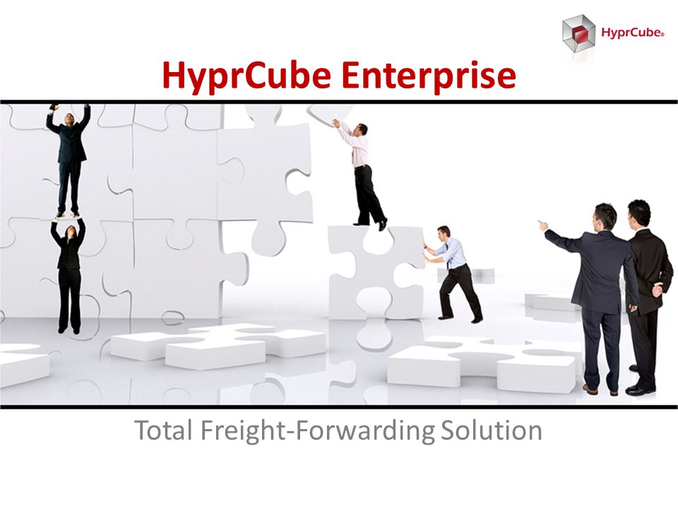 HyprCube Enterprise Total Freight-Forwarding Solution