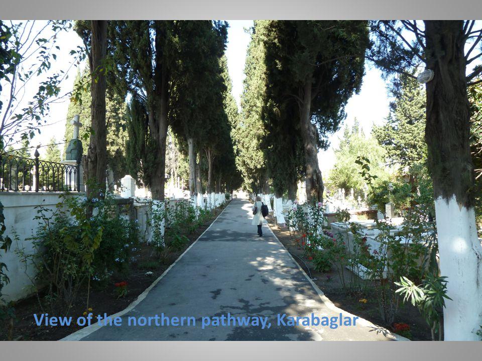 View of the northern pathway, Karabaglar