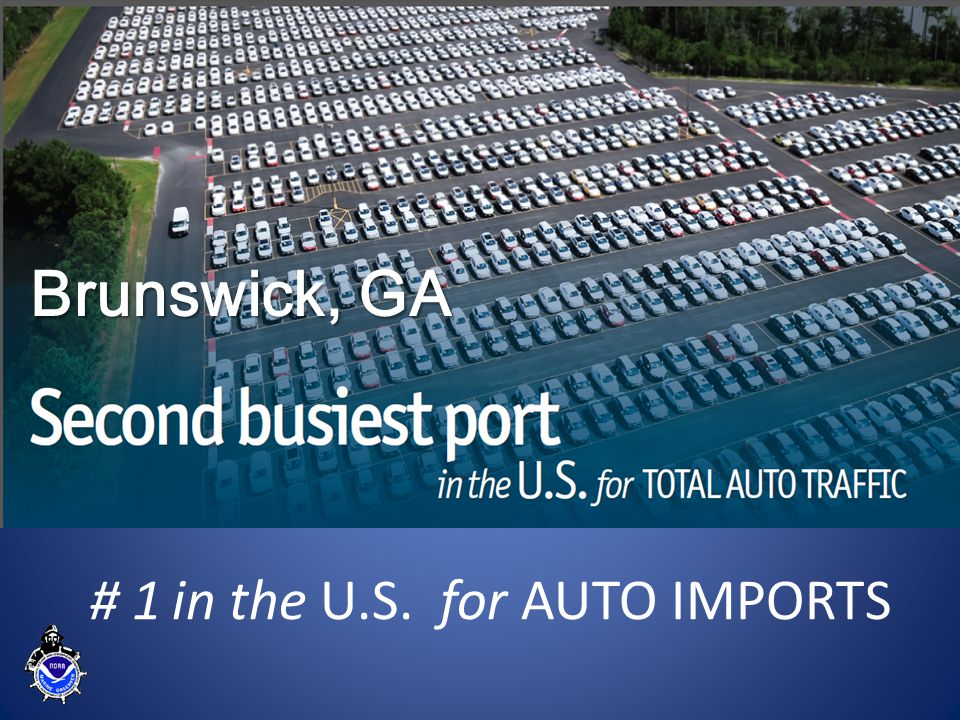 Port of Brunswick #1 for New Import Vehicles in the U.S.