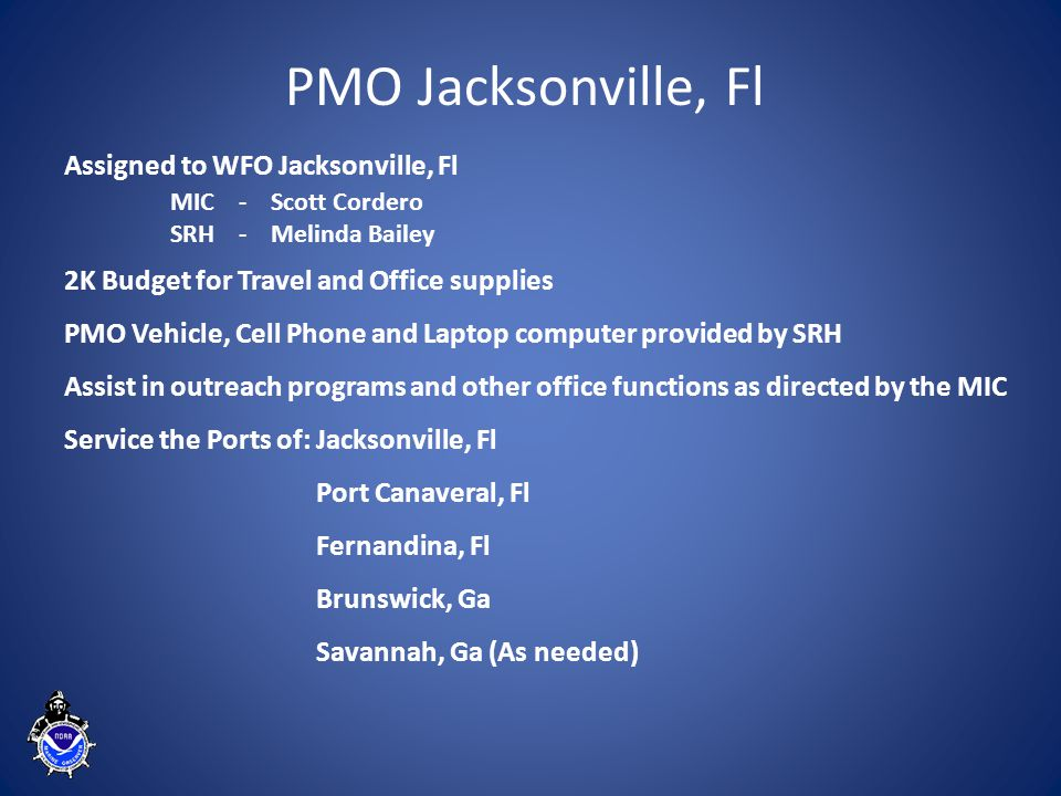 Annual Ship/Marine Observations, Jacksonville PMO 2008-2013 Note: Jacksonville PMO Hire Date September 2008