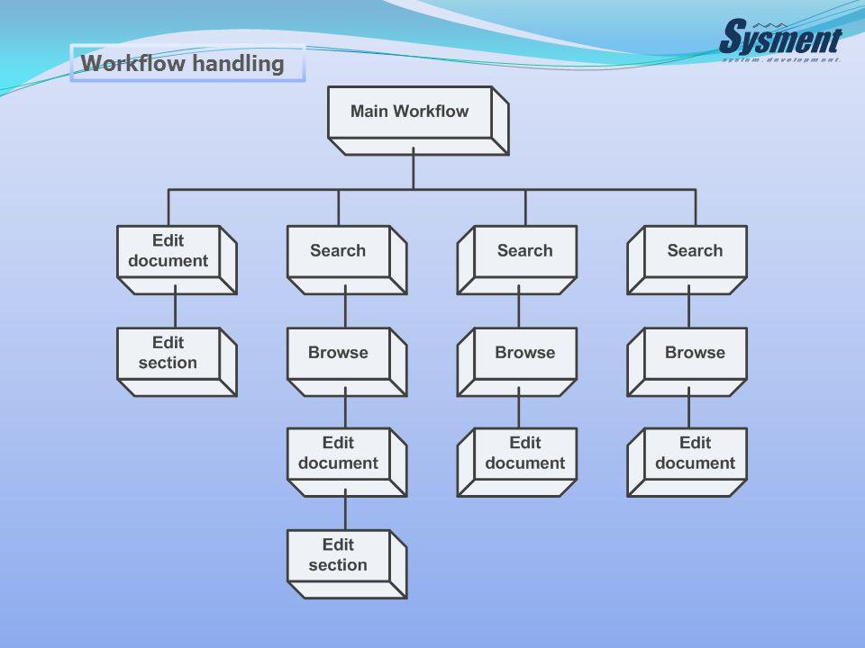 Workflow handling