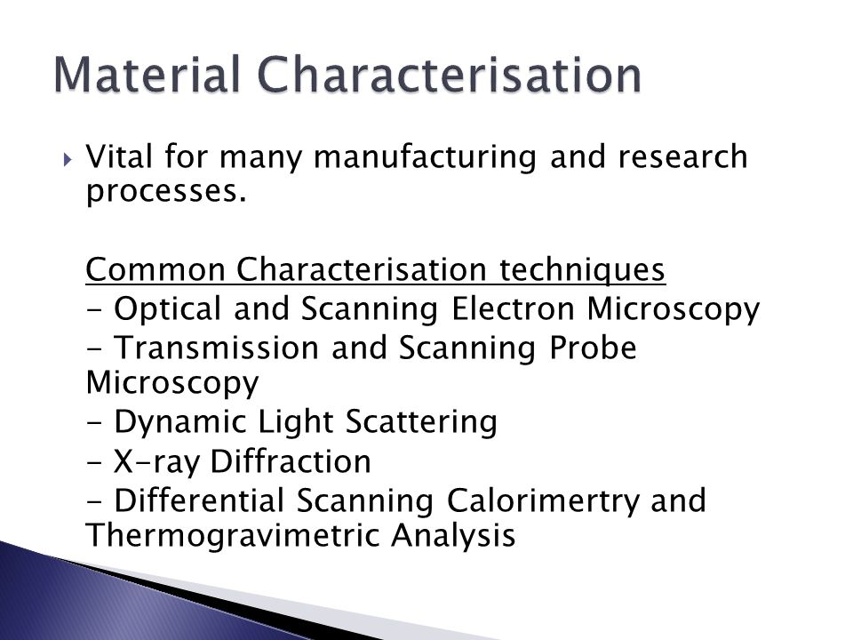  Surface Area and Porosity measurement data important for many sectors:  Pharmaceuticals  Paint & Surface Coating  Ceramics  Catalysts  Gas Sensors & Filters etc.