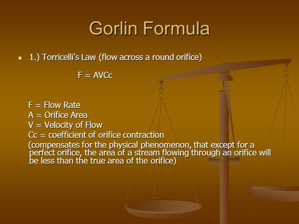 Assessment of Aortic Stenosis in Patients with low Cardiac Output * Valve calculations using the Gorlin formula are flow dependent.