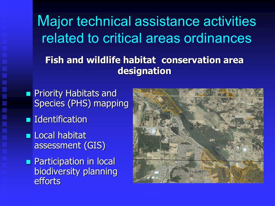 WDFW Local Habitat Assessment (Kitsap County)