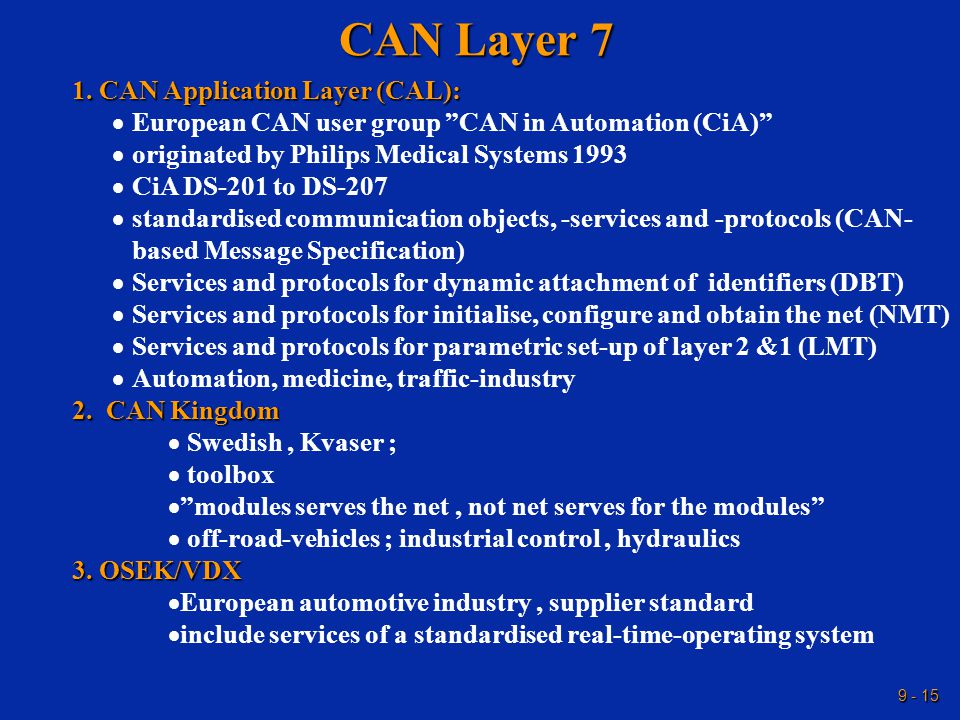 9 - 15 CAN Layer 7 1.