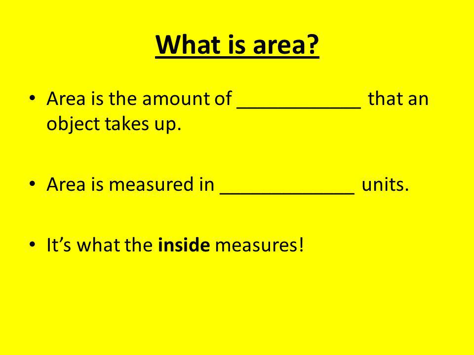 Practice Problem #4 What is the area.____________________ What is the perimeter.